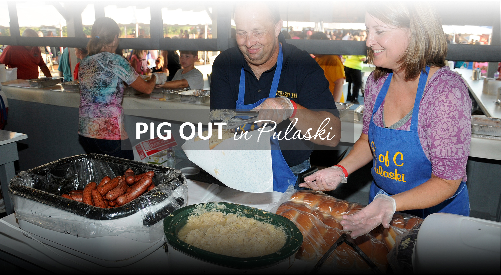 Pig Out in Pulaski